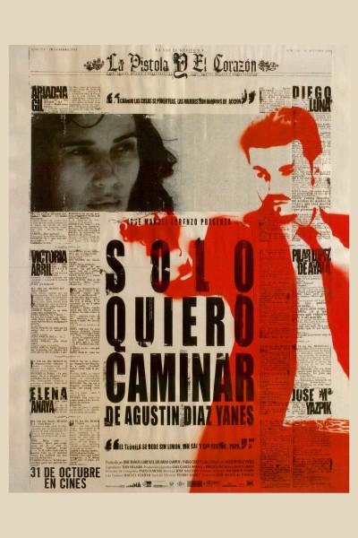 Caratula, cartel, poster o portada de Sólo quiero caminar