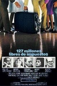Caratula, cartel, poster o portada de 127 millones libres de impuestos
