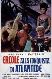 Caratula, cartel, poster o portada de La conquista de la Atlántida
