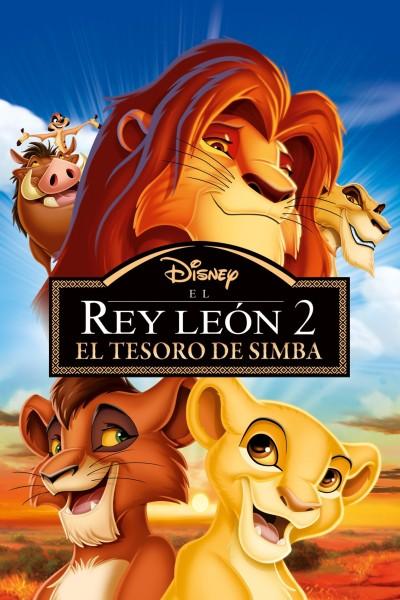 Caratula, cartel, poster o portada de El Rey León 2 - El tesoro de Simba