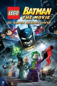 Caratula, cartel, poster o portada de Lego Batman: La película. El regreso de los superhéroes de DC