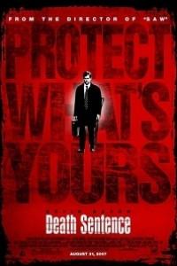 Caratula, cartel, poster o portada de Sentencia de muerte