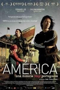 Caratula, cartel, poster o portada de América, una historia muy portuguesa