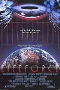 Caratula, cartel, poster o portada de Lifeforce, fuerza vital