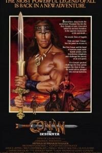 Caratula, cartel, poster o portada de Conan, el destructor