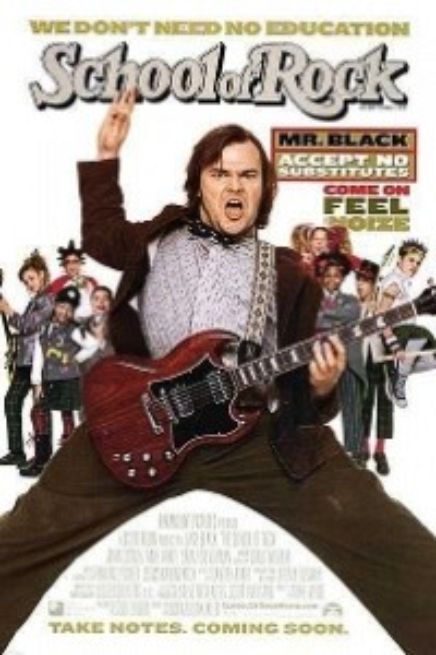 Caratula, cartel, poster o portada de Escuela de rock