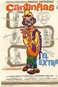 Caratula, cartel, poster o portada de El extra