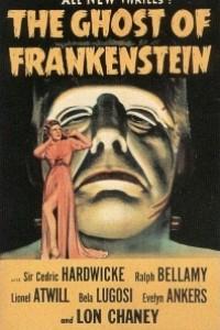 Caratula, cartel, poster o portada de El fantasma de Frankenstein