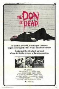 Caratula, cartel, poster o portada de El Don ha muerto