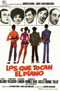 Caratula, cartel, poster o portada de Los que tocan el piano