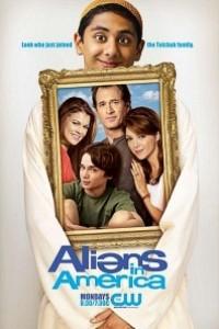 Caratula, cartel, poster o portada de Aliens in America