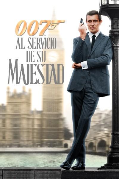 Caratula, cartel, poster o portada de 007 al servicio secreto de su Majestad