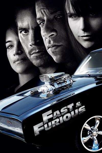 Caratula, cartel, poster o portada de Fast & Furious: Aún más rápido (A todo gas 4)