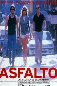 Caratula, cartel, poster o portada de Asfalto