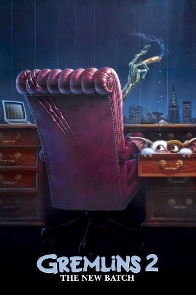 Caratula, cartel, poster o portada de Gremlins 2. La nueva generación