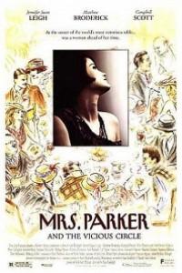 Caratula, cartel, poster o portada de La Sra. Parker y el círculo vicioso