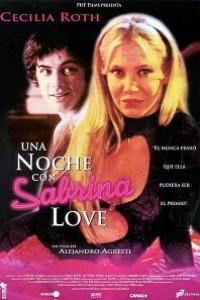 Caratula, cartel, poster o portada de Una noche con Sabrina Love