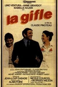 Caratula, cartel, poster o portada de La bofetada