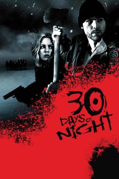 Caratula, cartel, poster o portada de 30 días de oscuridad