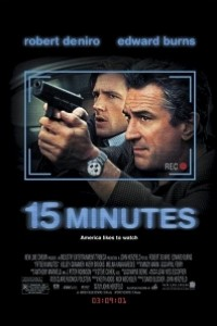 Caratula, cartel, poster o portada de 15 minutos