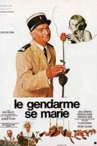 Caratula, cartel, poster o portada de El gendarme se casa