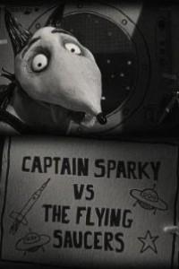 Caratula, cartel, poster o portada de Captain Sparky vs. the Flying Saucers