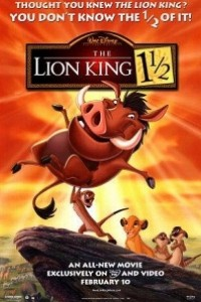 Caratula, cartel, poster o portada de El rey león 3 - Hakuna Matata