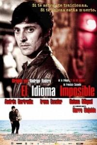 Caratula, cartel, poster o portada de El idioma imposible