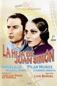 Caratula, cartel, poster o portada de La hija de Juan Simón