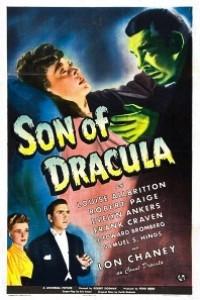 Caratula, cartel, poster o portada de El hijo de Drácula