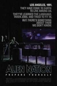 Caratula, cartel, poster o portada de Alien nación