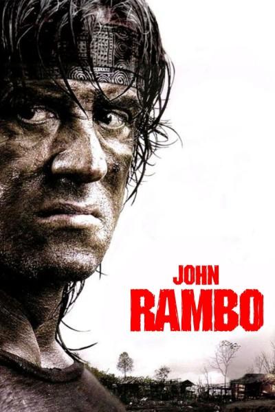 Caratula, cartel, poster o portada de John Rambo (Rambo IV)