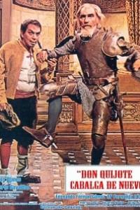 Caratula, cartel, poster o portada de Don Quijote cabalga de nuevo