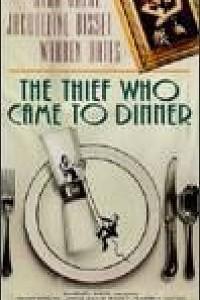 Caratula, cartel, poster o portada de El ladrón que vino a cenar