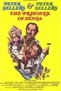 Caratula, cartel, poster o portada de El estrafalario prisionero de Zenda