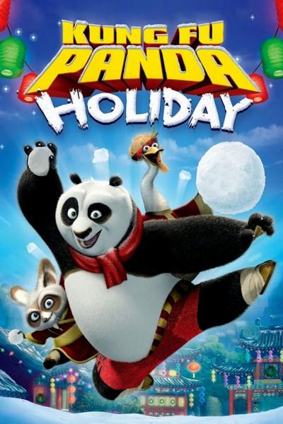 Caratula, cartel, poster o portada de La fiesta de Kung Fu Panda