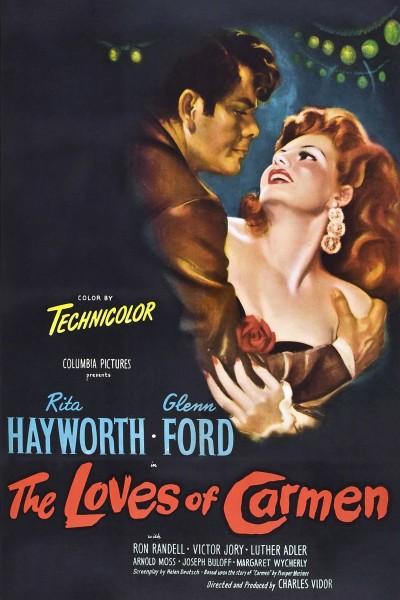 Caratula, cartel, poster o portada de Los amores de Carmen