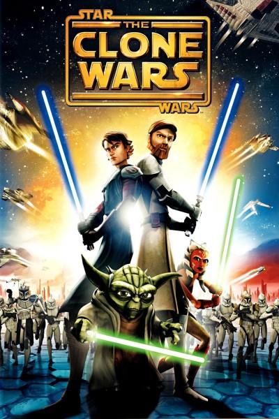 Caratula, cartel, poster o portada de Star Wars: The Clone Wars