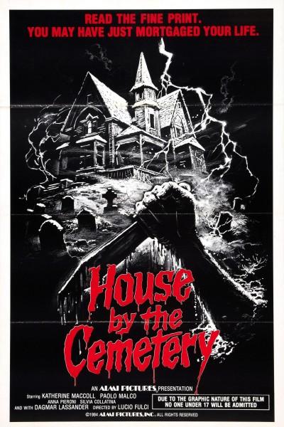 Caratula, cartel, poster o portada de Aquella casa al lado del cementerio
