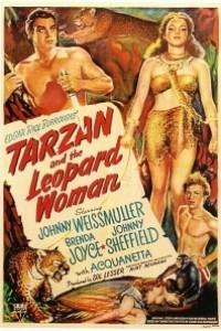 Caratula, cartel, poster o portada de Tarzán y la mujer leopardo