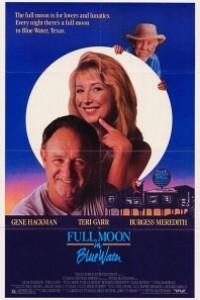 Caratula, cartel, poster o portada de Luna llena en agua azul