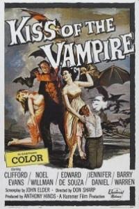 Caratula, cartel, poster o portada de El beso del vampiro