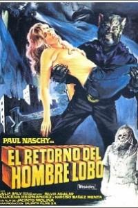 Caratula, cartel, poster o portada de El retorno del hombre lobo
