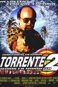Caratula, cartel, poster o portada de Torrente 2: Misión en Marbella