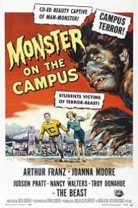 Caratula, cartel, poster o portada de Monster on the Campus (Monstruo en la noche)