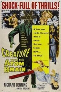 Caratula, cartel, poster o portada de La criatura con el cerebro atómico