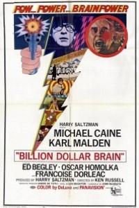 Caratula, cartel, poster o portada de El cerebro de un billón de dólares