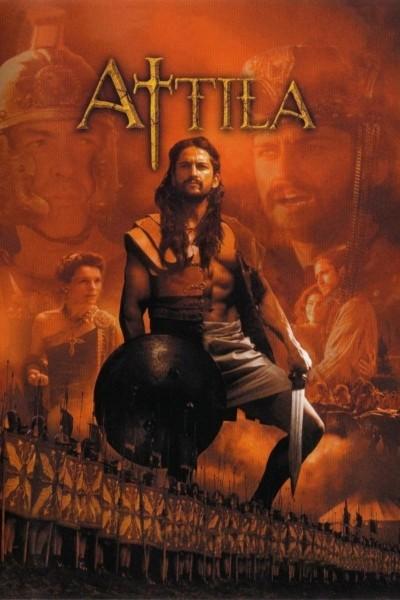 Caratula, cartel, poster o portada de Atila, rey de los hunos (Atila, el huno)