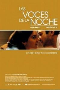Caratula, cartel, poster o portada de Las voces de la noche