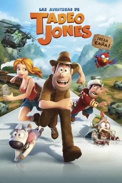 Caratula, cartel, poster o portada de Las aventuras de Tadeo Jones